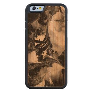 YIN - YANG AUCH! (schwarze u. weiße Kunst) ~ ~ Bumper iPhone 6 Hülle Kirsche