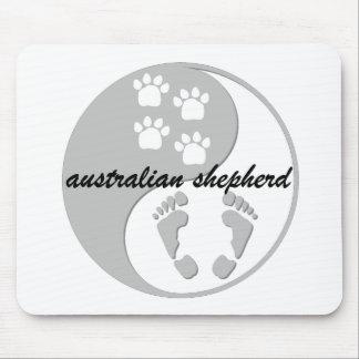 yin Yang-Australierschäfer Mousepad
