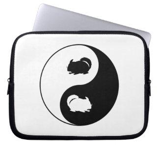 Yin Yang Chinchilla Laptopschutzhülle