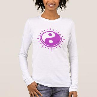 Yin Yang der lange Sleeved T - Shirt der