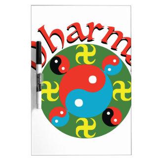 Yin Yang Dharma Memoboard