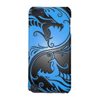 Yin Yang Drachen, Blau und Schwarzes iPod Touch 5G Hülle