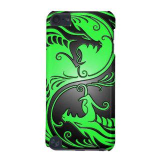 Yin Yang Drachen, Grün und Schwarzes iPod Touch 5G Hülle