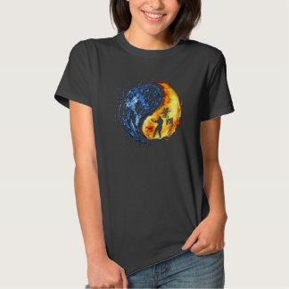 "Yin Yang - Flügel Chun ""Kung Fu "" Tshirt"