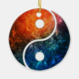 Yin Yang Keramik Ornament