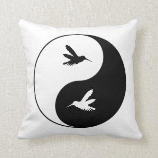Yin Yang Kolibris Kissen