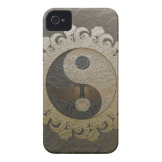 Yin Yang mit Baum des Lebens durch Amelia Carrie Case-Mate iPhone 4 Hülle
