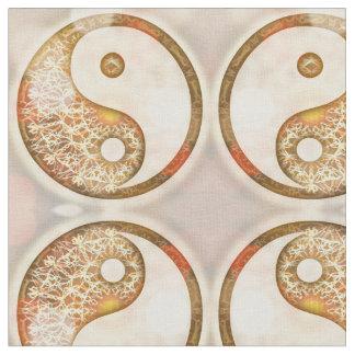 Yin Yang Muster Stoff