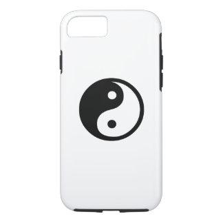 Yin Yang Piktogramm iPhone 6 Fall iPhone 8/7 Hülle