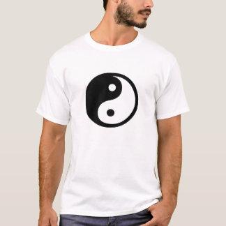 Yin Yang Piktogramm-T - Shirt