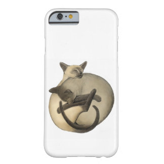 Yin Yang siamesische Katzen iPhone 6 Fall Barely There iPhone 6 Hülle