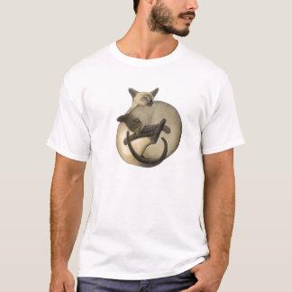 Yin Yang siamesische Katzen-T-Shirt T-Shirt