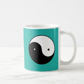 Yin Yang Symbol Kaffeetasse