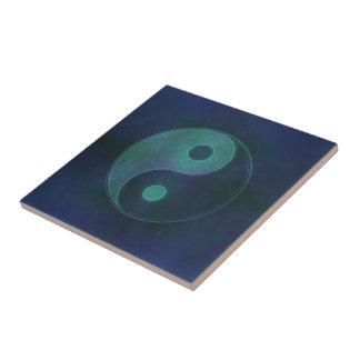 Yin Yang Symbol Keramikfliese