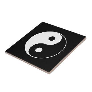 Yin Yang Symbol Kleine Quadratische Fliese