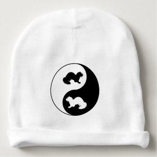 Ying und Yang-Frettchen Babymütze