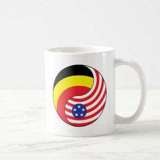 Ying Yang Belgien-Andoora Amerika Kaffeetasse