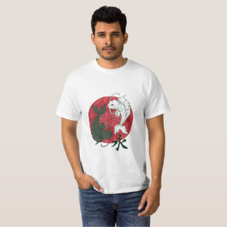 Ying Yang Koi Fisch-T - Shirt