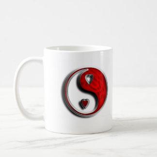 Ying Yang Liebe Kaffeetasse