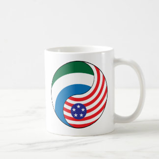 Ying Yang Sierra Leone Amerika Kaffeetasse