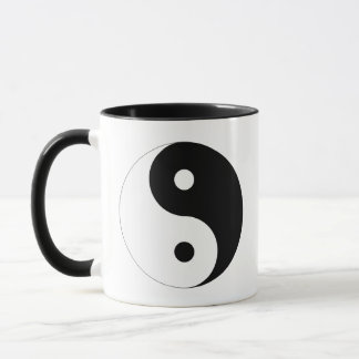 Ying Yang Symbol-Geschenk Tasse