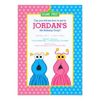 Yip-Yips l'anniversaire Carton D'invitation 12,7 Cm X 17,78 Cm