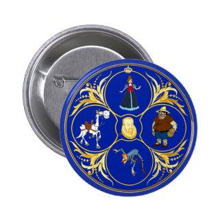 #YoEstrellaCervantes/www.estrellacervantes.es Runder Button 5,1 Cm