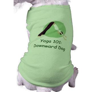 """""""Yoga 101: Abwärts Hund """" Shirt"""