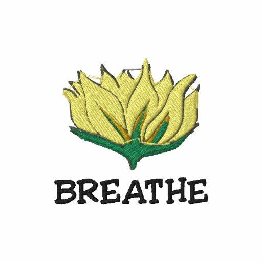Yoga atmet den T - Shirt der gestickten Frauen