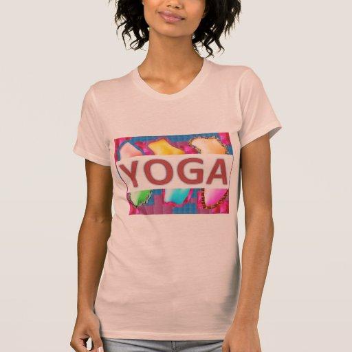 YOGA bezauberndes Energie-Skript Tshirts