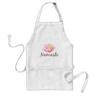 Yoga de fleur de Namaste Lotus Tablier