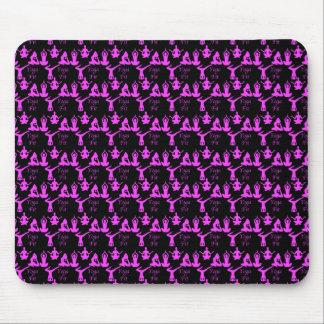 Yoga-geeignete Muster-Mausunterlage Mousepads