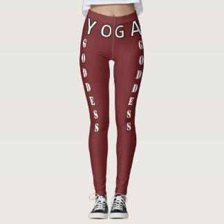 Yoga-Göttin - Lobe und Auftriebe Ihr Hintern!! Leggings