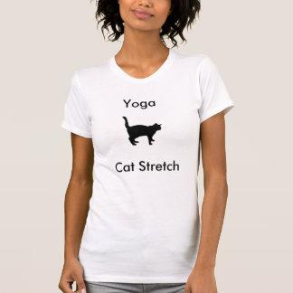 Yoga-Katzen-Ausdehnungs-T - Shirt