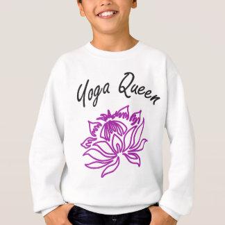 Yoga-Königin-Entwürfe! Sweatshirt