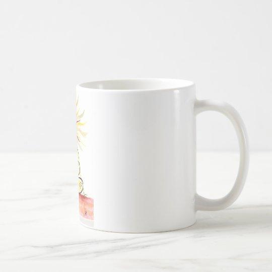 Yoga-Kunst - Dorn-Drehungs-Pose Tasse