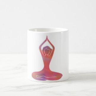 Yoga-Mädchen-Tasse Tasse