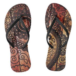 Yoga-Meditation Flip Flops