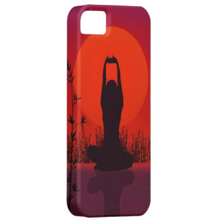 Yoga, Meditation, Mode, Fitness iPhone 5 Etui