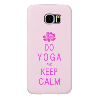 Yoga mit Lotos-Blume