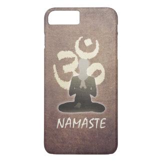 Yoga Namaste Vintage OM Om-Vermittlung iPhone 8 Plus/7 Plus Hülle