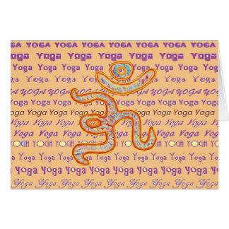 YOGA - script alle über unterschiedlichem Karte