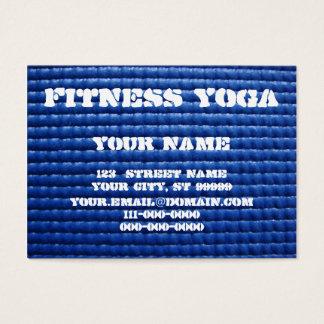 Yogamatte Visitenkarte