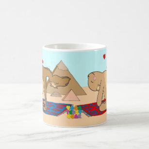 Yogateddy-Bärn-Kamel-Pose-Tasse Kaffeetasse