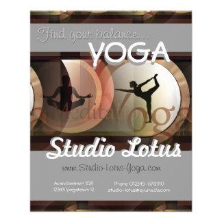 Yogawerbeverkauf-Flyer 11,4 X 14,2 Cm Flyer