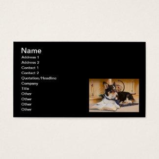 Yogi der Wissenschafts-Hund Visitenkarte