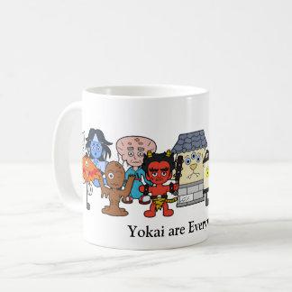 Yokai sind überall: Kundenspezifisches japanisches Kaffeetasse