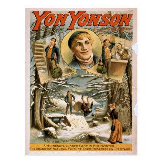 Yon Yonson Postkarte