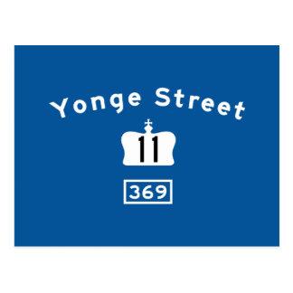 Yonge St. 11 Postkarte