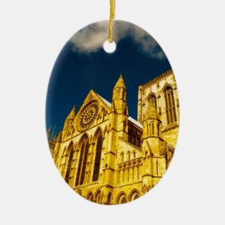 York-Stadt Münster erhöht Keramik Ornament
